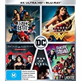 DC 5-Film Collection [Justice League/Wonder Woman/Batman v Superman: Dawn of Justice/Man of Steel/Suicide Squad]
