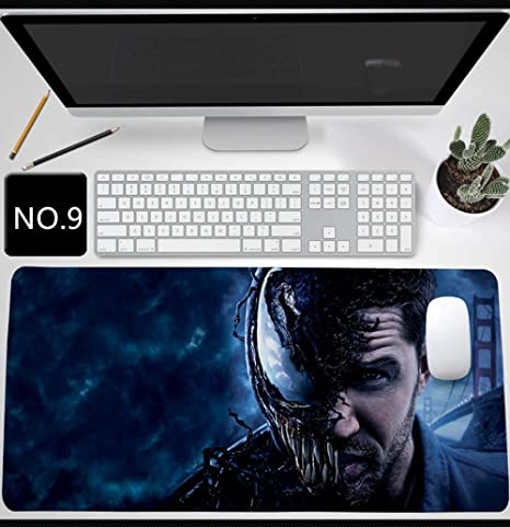 Gaming Mouse Pad Extra Large XXL 6 mm Anti-Slip Rubber Base Waterproof Desk Mat