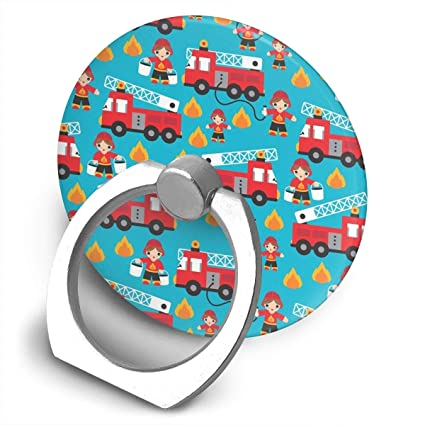 amazon com cuuop13 fire truck and hero boys car phone ring holder