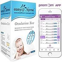 25 Pruebas de ovulación ultrasensibles (25mlU/ml), Easy@Home 25