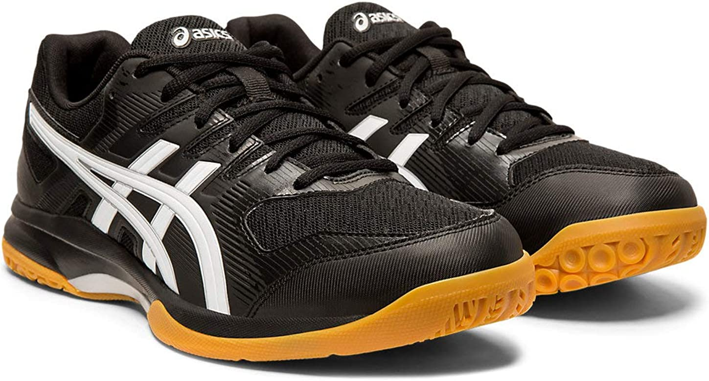 ASICS Men's Gel Tactic Volleyball Shoe, WhiteBlackPale