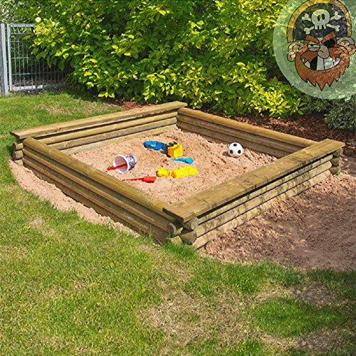 Groer-Sandkasten-180x180-cm-aus-Rundholz--7-cm-von-Gartenpirat
