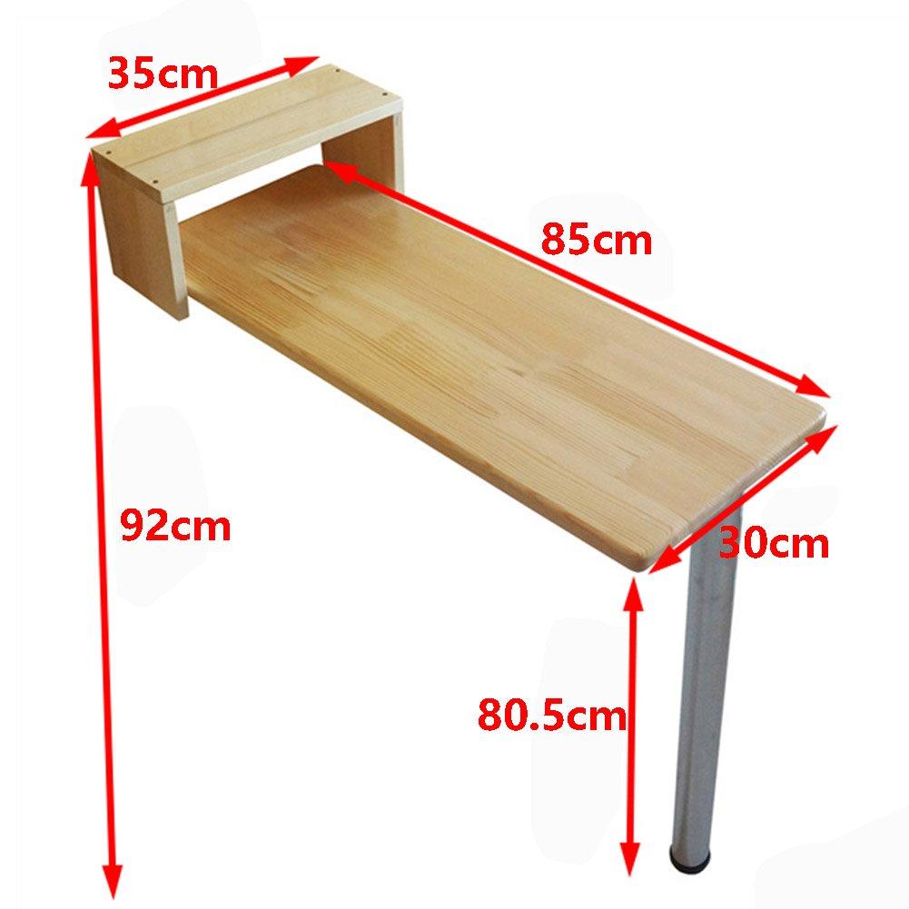 LQQGXLポータブル折りたたみテーブル 折り畳みテーブルバーテーブル、アメリカの小さなアパートバーテーブル、木製のダイニングテーブル、 (サイズ さいず : 85 * 40cm) B07HYXHJKJ 85*40cm  85*40cm