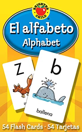 Comprar El Alfabeto Flash Cards: Alphabet (Brighter Child Flash Cards)