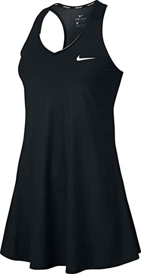 da115bee74ba51 Amazon.com  Nike Womens Court Dry Tennis Dress  Sports   Outdoors