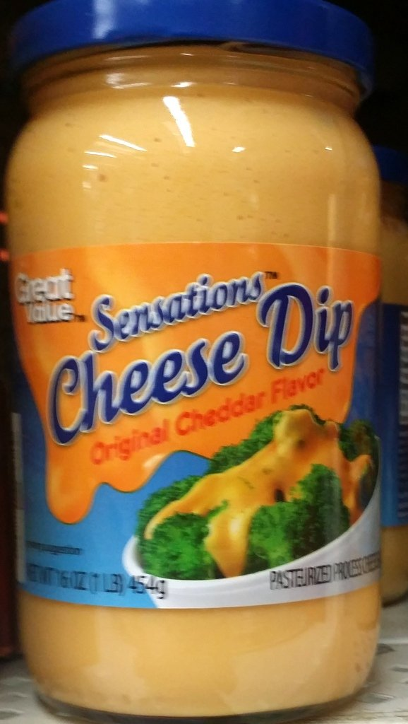 Great Value Sensations Cheese Dip, Original Cheddar Flavor 16 Oz (Pack of 2)