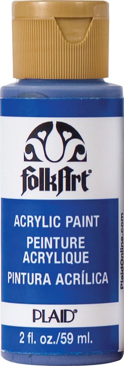 FolkArt Acrylic Paint in Assorted Colors (2 oz), 720, Cobalt