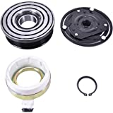 Catinbow DMA830 AC Compressor Clutch Assembly Repair Kit with Pulley Bearing, Electromagnetic Coil & Plate