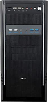 VAKABOX 5.25 inch Panel Computer Expansion Board USB 2.0X2 USB 3.0X2 USB 3.0 Front Panel hub Microphone Input and Audio Output Ports are Suitable for Computer case