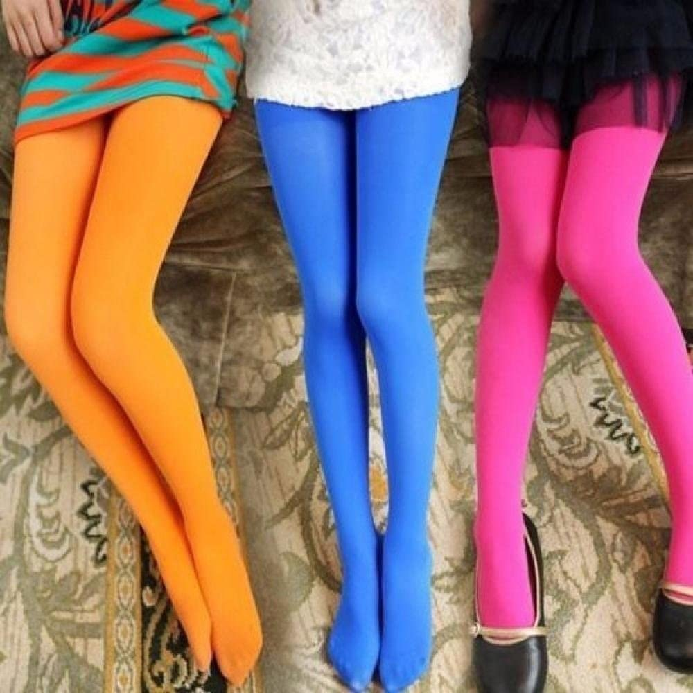 Girls Microfiber Tights Cute Girls Baby Kids Toddlers Cotton Pantyhose Pants Dance Stockings Socks Hose Ballet