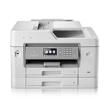 MFC-J6935DW 1200 x 4800DPI Inyección de tinta A3 35ppm Wifi Gris, Color blanco multifuncional