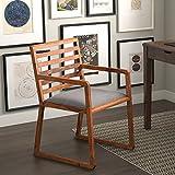 Urban Ladder Hawley Low Back Study Chair (Teak)