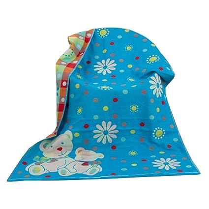Toallas de algodón personalizada (14070 cm) toallas de funda de niños grandes suave toalla
