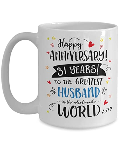 Amazon Com 31st Wedding Anniversary Gifts For Him Greatest