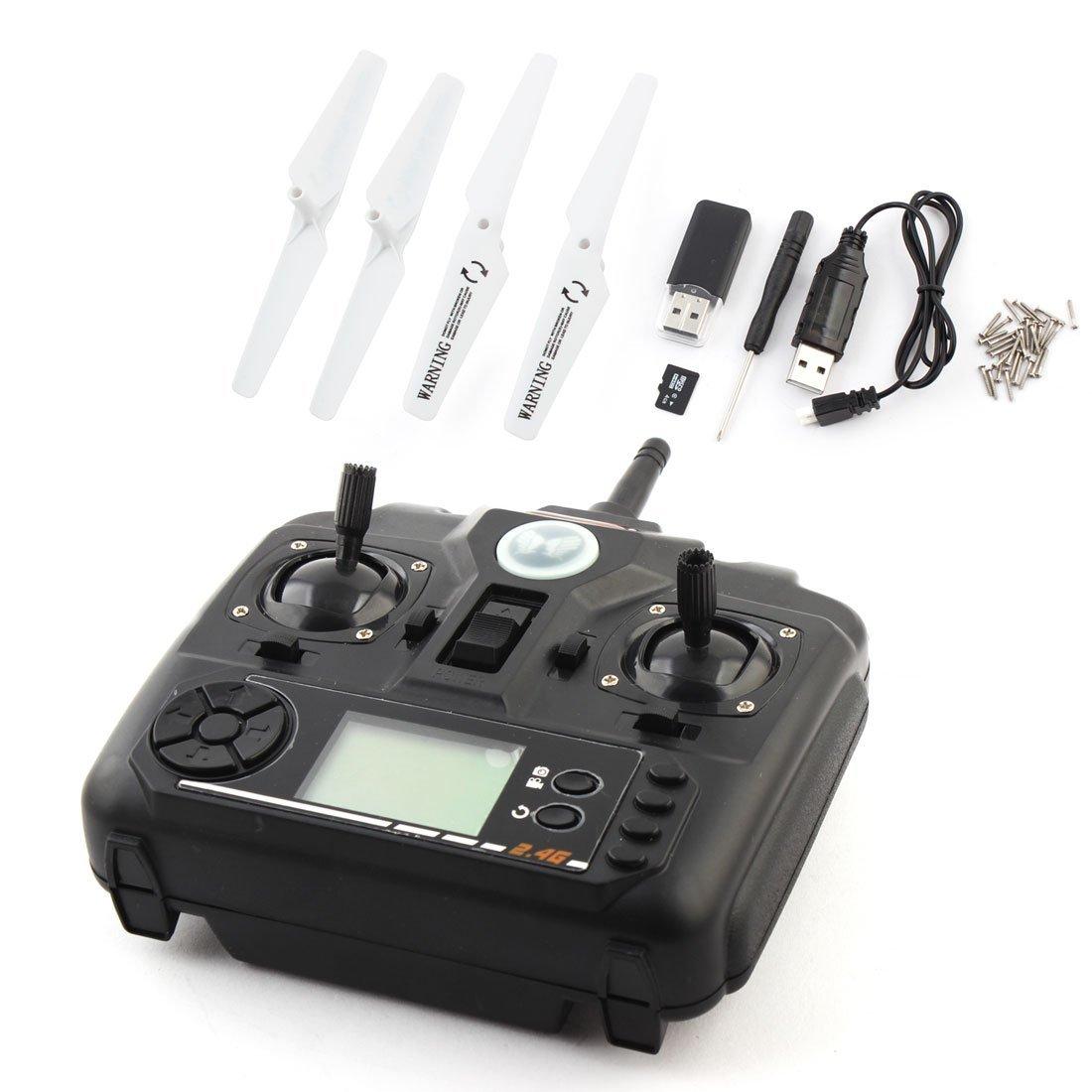 Amazon.com : eDealMax 2.4G DC 3.7V 780mAh RC helicóptero cámara de ...