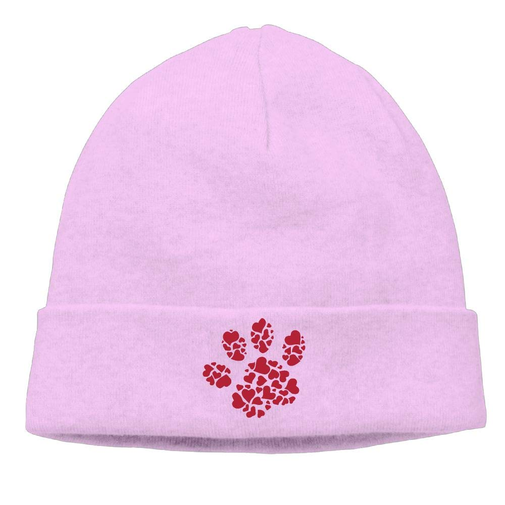 Hearts in Paw Women and Men Beanie Cap Winter Warm Knit Beanie Cap