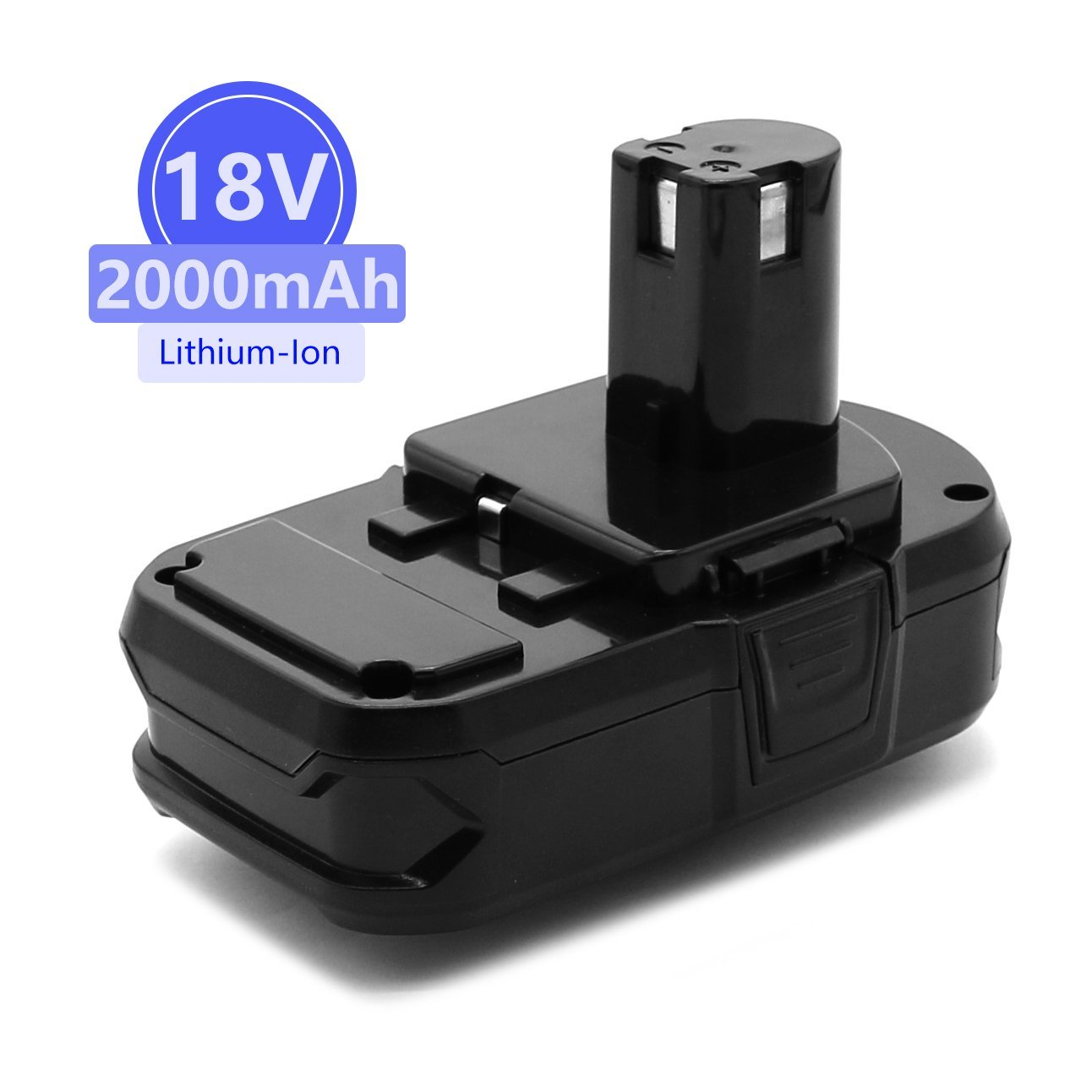 Power-Ing 18V 2000mAh Lithium Ion Replacement Battery for Ryobi ONE Plus P102 P108 P105 P104 P107 P507 P103 P122 P109 RB18L40 ONE+ 18 Volt 2.0AH Cordless Drill Power Tools batteries Pack Parts