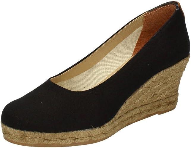TORRES 4012 Zapatos CUÑA Esparto Mujer Alpargatas: Amazon.es ...