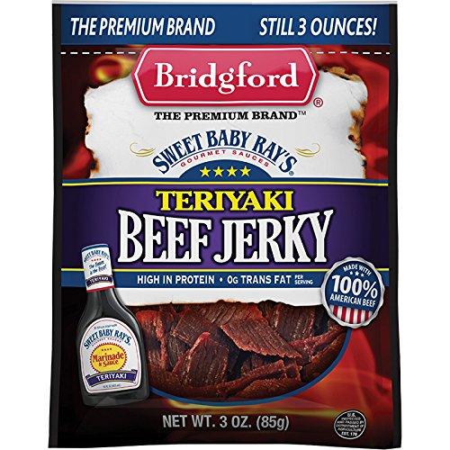 Sbr Teriyaki Beef Jerky 3oz
