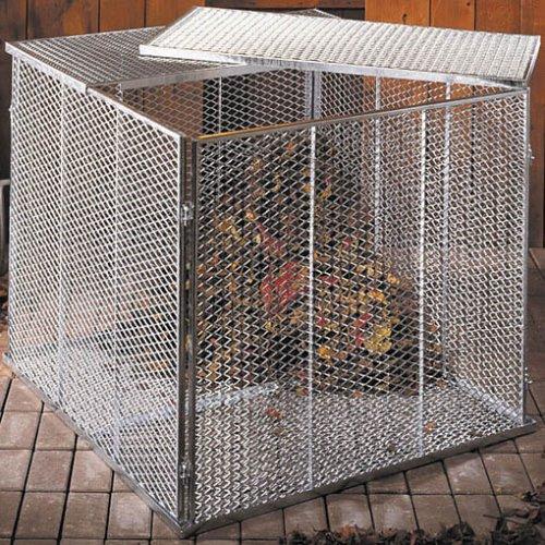 Komposter-Deckel/Boden Streckm.100x100cm