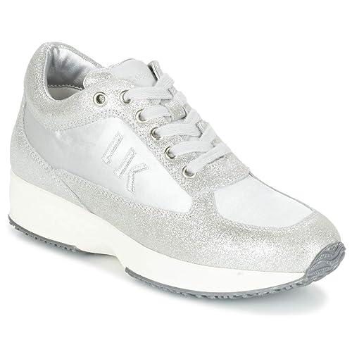 4237cd3ea7 Lumberjack SW01305-005 P27 Sneakers Donna Pelle SILVER SILVER 41 ...