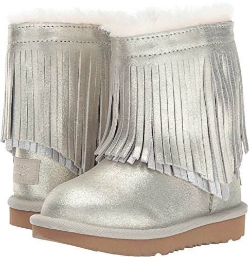 UGG Kids Baby Girl's Classic Short II Fringe (Toddler/Little for sale  Delivered anywhere in USA