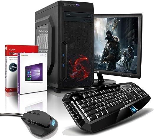Ordenador completo Shinobee negro FX-6300, 8GB, 2TB, GTX1050 2GB ...