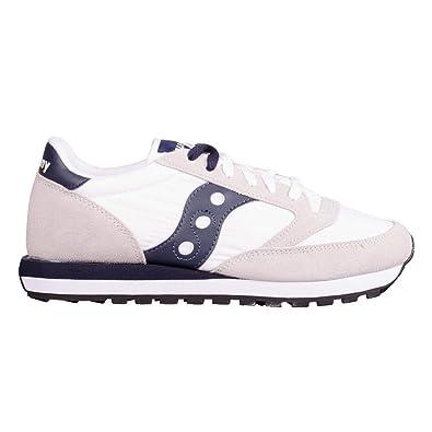 Saucony hombre zapatillas de deporte baja JAZZ ORIGINAL S2044-331 42.5 Grigio / bianco: Amazon.es: Zapatos y complementos