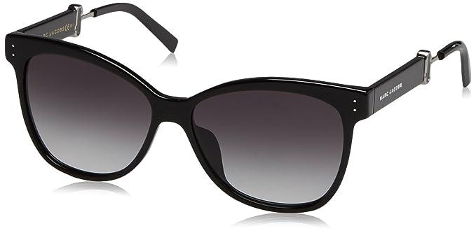 Marc Jacobs Damen Sonnenbrille Marc 129/S 9O 807, Black/Dark Grey Sf, 50