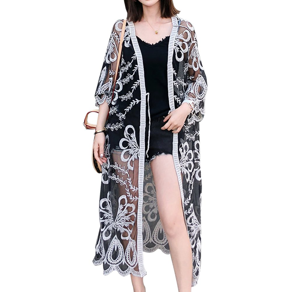 8530fca3825 Top 10 wholesale Long Black Swimsuit Cover Up - Chinabrands.com