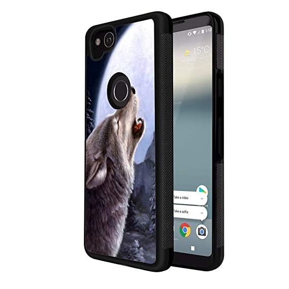 Amazon com: YaoLang Google Pixel 2 Phone Case, Wolf Animals