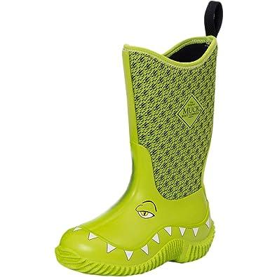 664f754d10e Muck Boot Kid s Hale Green Neoprene Boots 8C