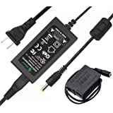 Gonine DMW-DCC8 DMW-AC8 AC Power Adapter DC Coupler Charger Kit, DMW-BLC12 Battery Replacement for Panasonic Lumix DMC-FZ2500