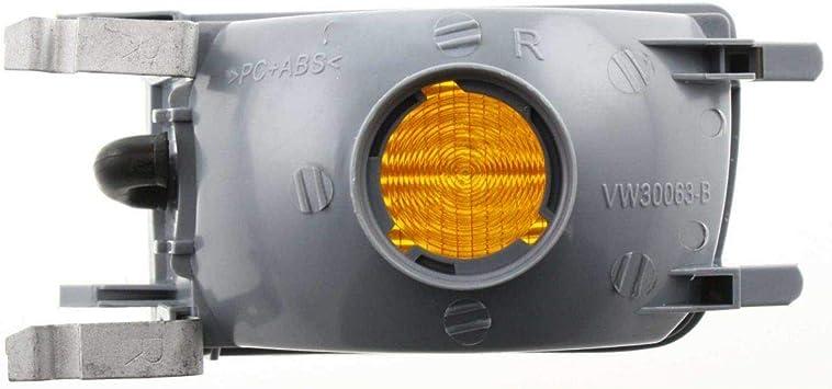 Front Bumper Cover For 93-99 Volks Jetta w// fog lamp holes 95-99 Cabrio Primed