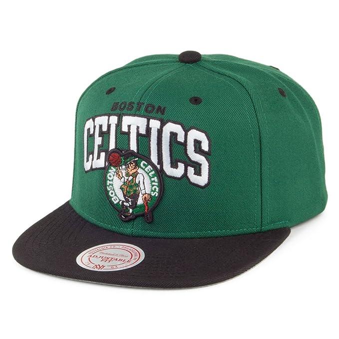 Gorra Team Arch Boston Celtics de Mitchell & Ness - Verde-Negro