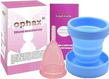 Ophax Copa Menstrual talla L + esterilizador gratis, es de ...