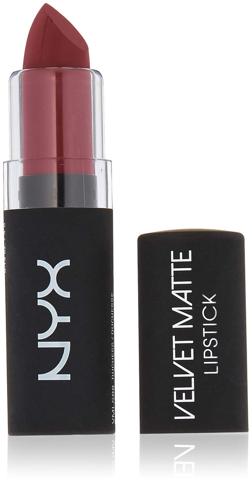 Velvet Matte Swatches: Amazon.com: NYX Professional Makeup Velvet Matte Lipstick