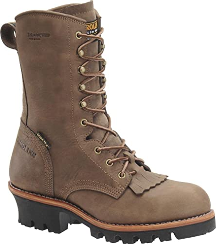 Mens Insulated Logger Boot
