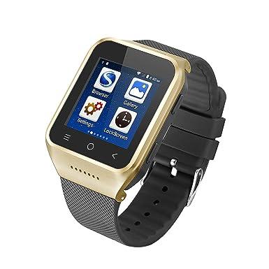 Amazon.com: Reloj inteligente Bluetooth reloj teléfono con ...