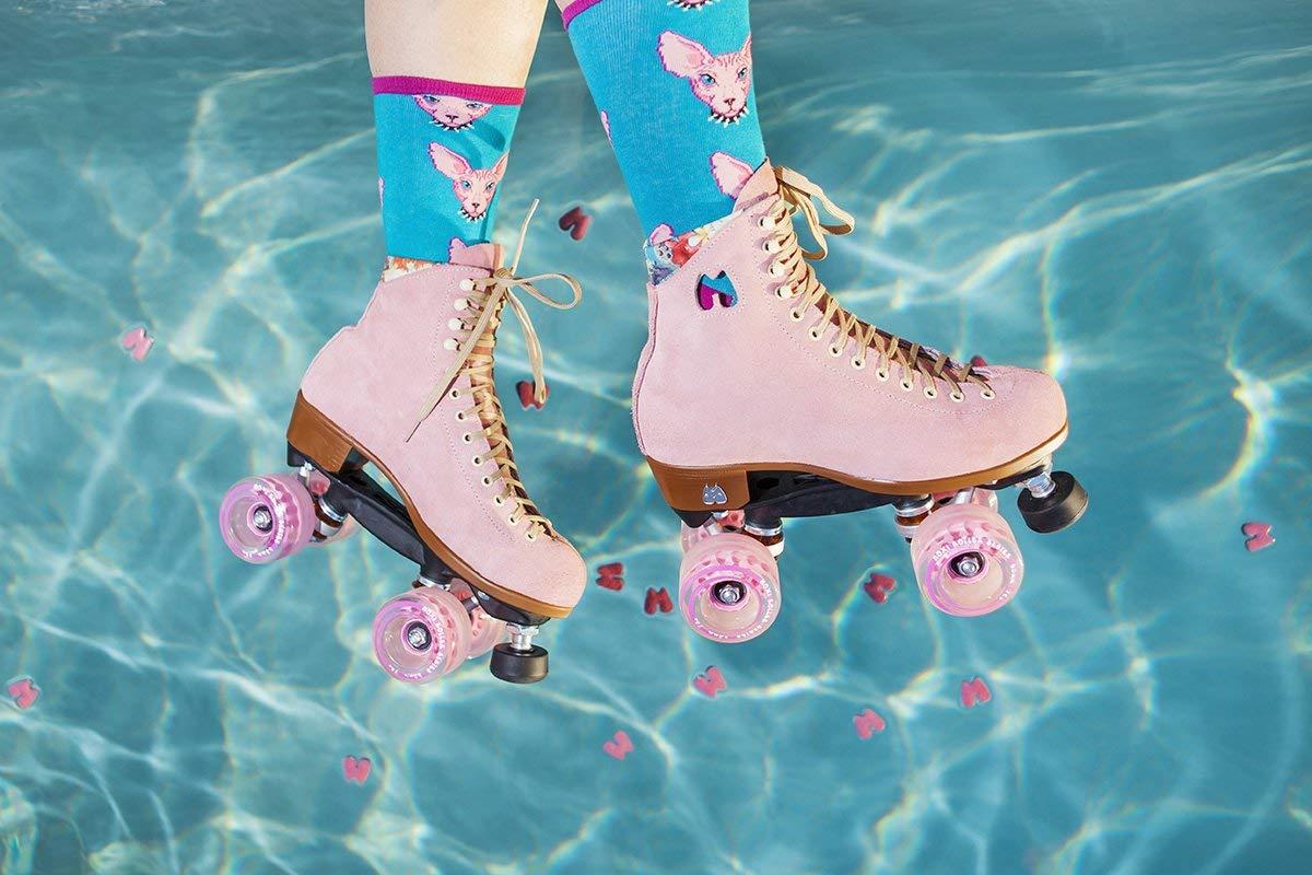 Moxi Roller Skates Lolly Roller Skates,Pink,4 by Moxi (Image #6)
