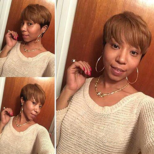 Wholesale Dreambeauty Brazilian Human Hair 2 Tone Brown Color Fashion Short Full Wigs for Women for sale