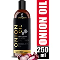 UrbanGabru Onion Oil for hair growth and skin care 250 ml with 15 essential oils and other powerful ingredients like amla, bhringraj,bhrami, sandalwood, castor, argan, sunflower and many more