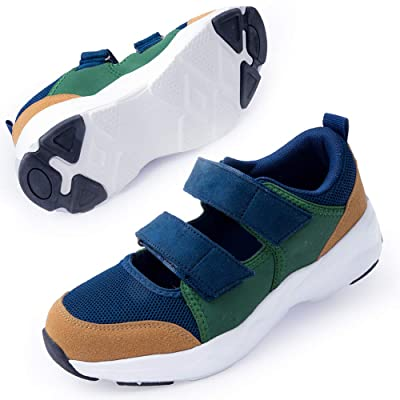 Women's Comfort Working Nurse Shoes Adjustable Breathable Wedges Slip-on Walking Sneaker Fitness Casual Shoes Mary Jane Sneaker | Walking