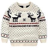 Moyishi Children's Fireplace Lovely Sweater Christmas Best Gift