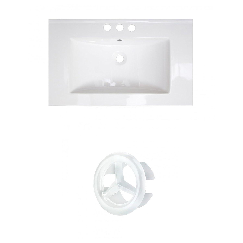 American Imaginations AI-888-20860 Ceramic Top Set White