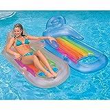 "Intex King Kool Inflatable Lounge, 63"" X 33.5"" , 1"