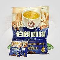 台湾伯朗咖啡 蓝山风味速溶三合一咖啡粉 即溶饮品(15g*30袋)