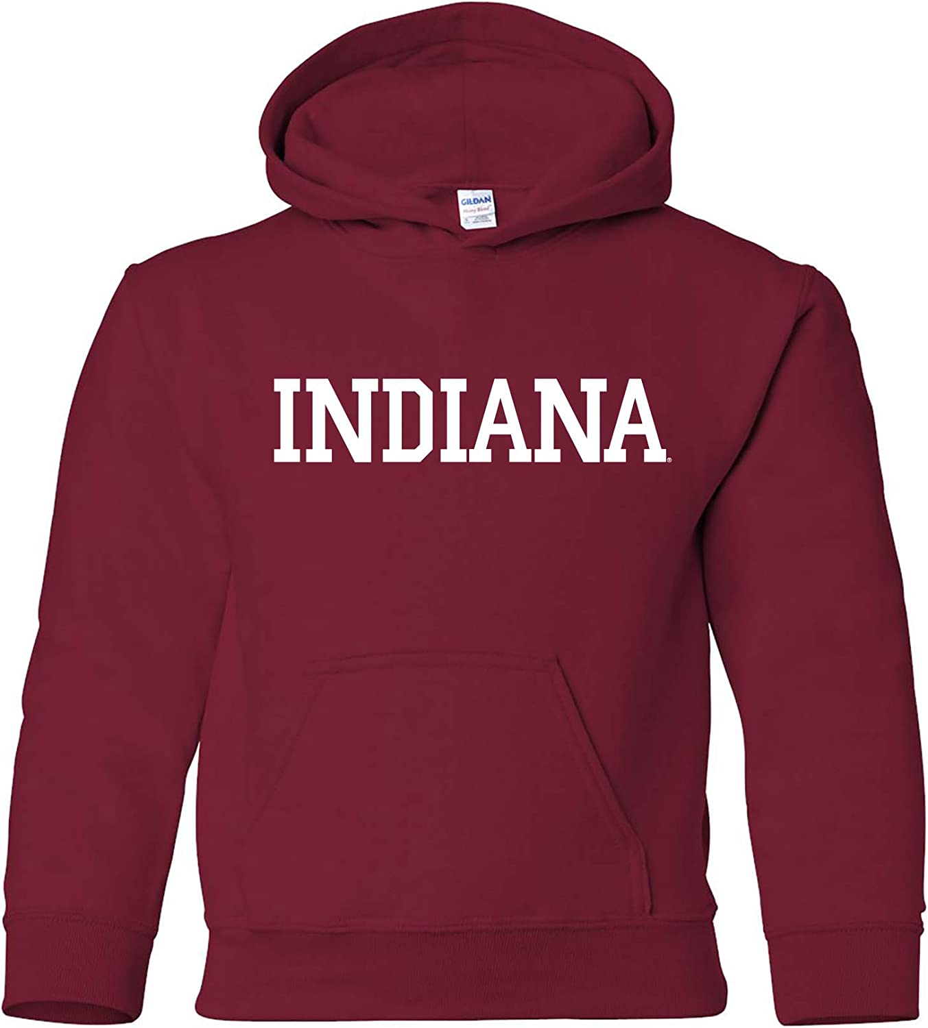 New  NCAA Indiana Hoosiers Pullover Hoodie Screen Printed  Youth and Toddler