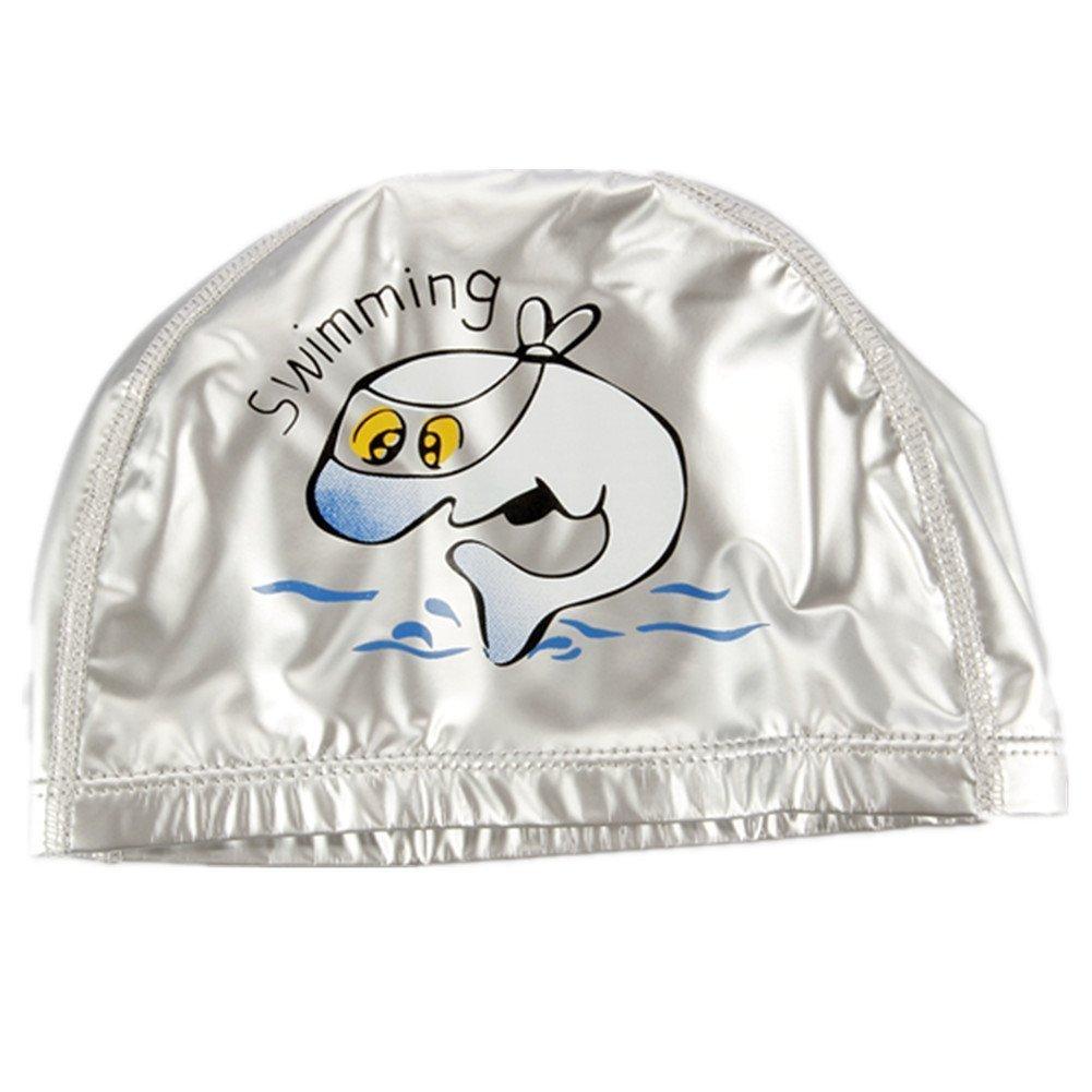 TININNA Gorro de natación de nailon impermeable gorro de baño gorra protección auditiva para bebe niños rosa, rosa: Amazon.es: Deportes y aire libre
