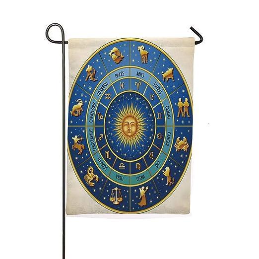iPrintsofierhome Banderas de jardín al Aire Libre, Icon con Flecha ...